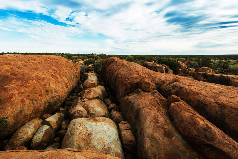 Granites at ex Woolgorong (photographer Glenn Campbell)