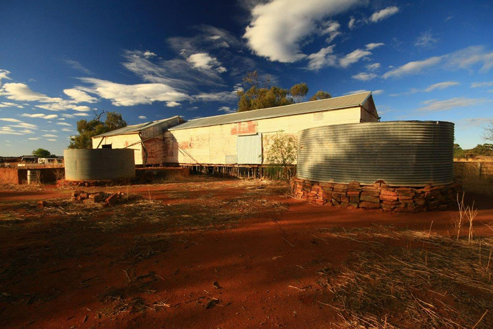 Station heritage at ex Karara, four hours drive from Perth (photographer David Blood)
