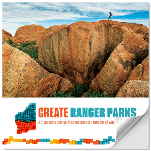 Read the Create Ranger Parks proposal as a flip book