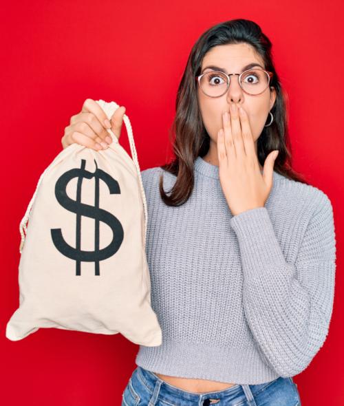 mistake bag of money