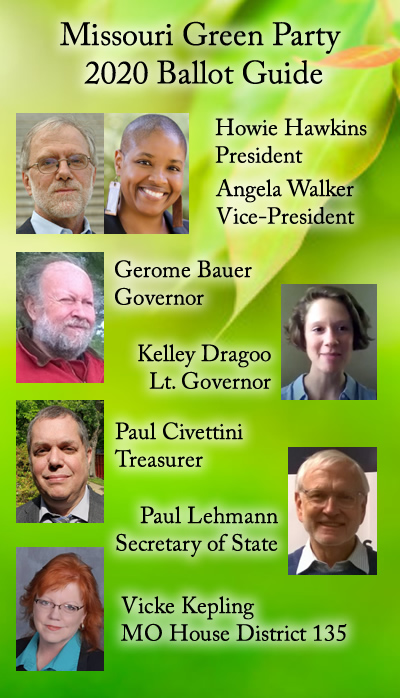 2020 MO Green Party Voter Guide