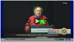 2020 Missouri Gubernatorial Debate Green Candidate Jerome Bauer