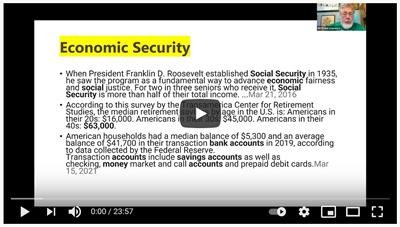 Frank Lawrence on Community Based Economics