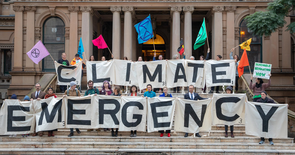 Acting on the climate emergency
