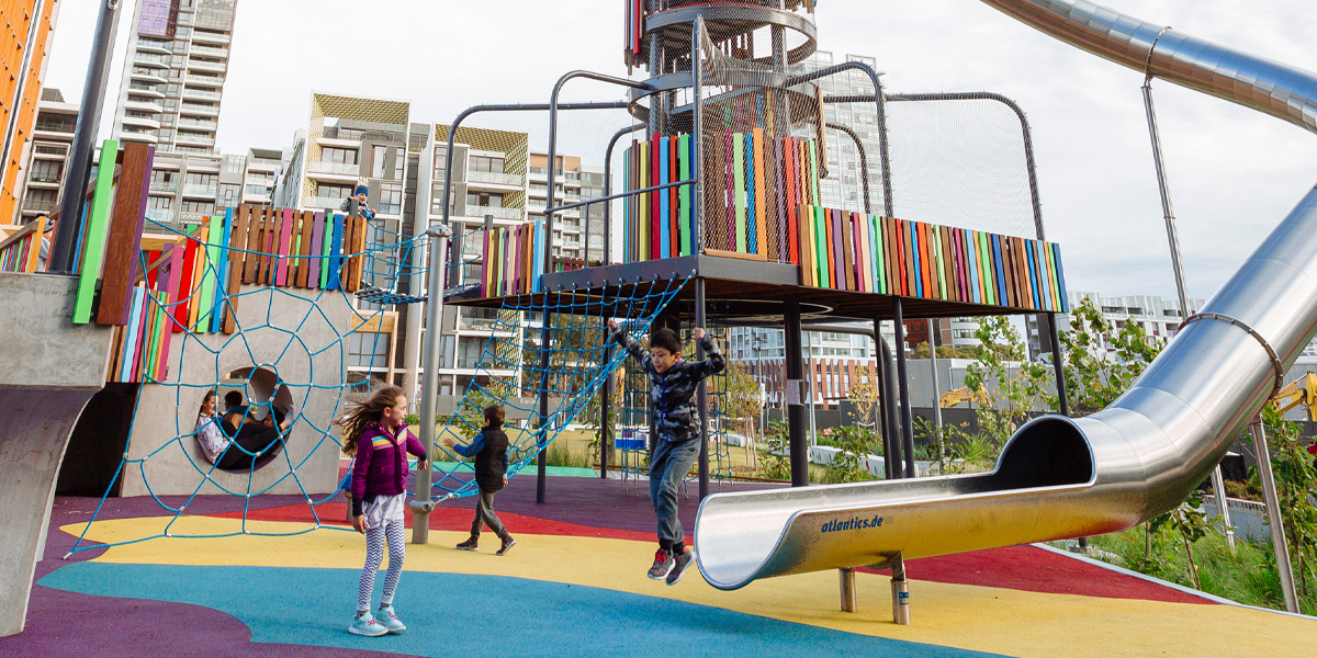 For leisure, play and greening