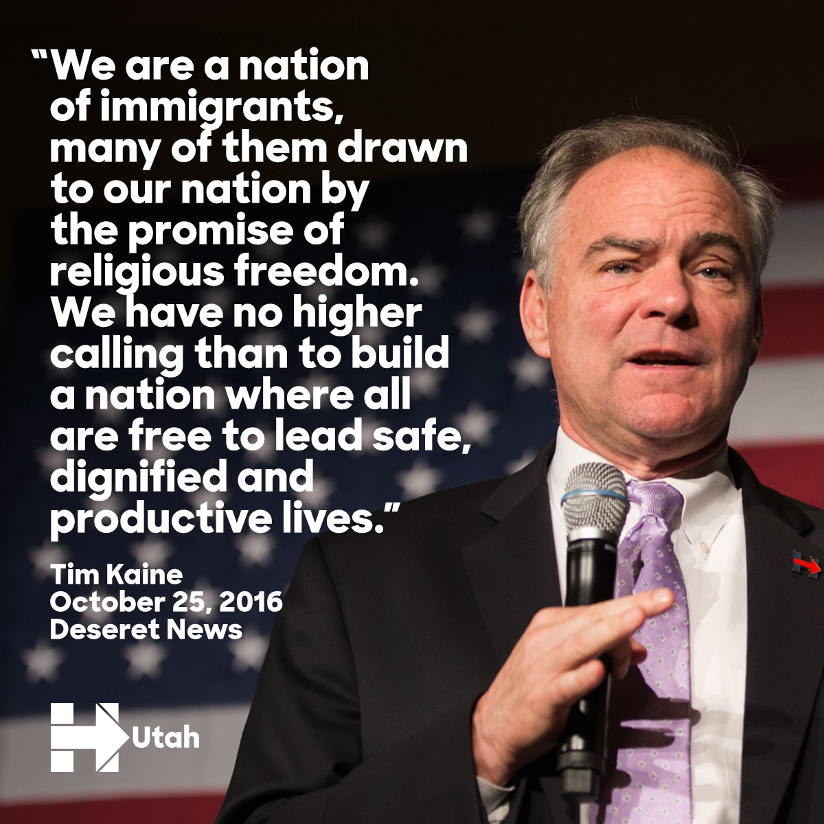 Kaine on immigration
