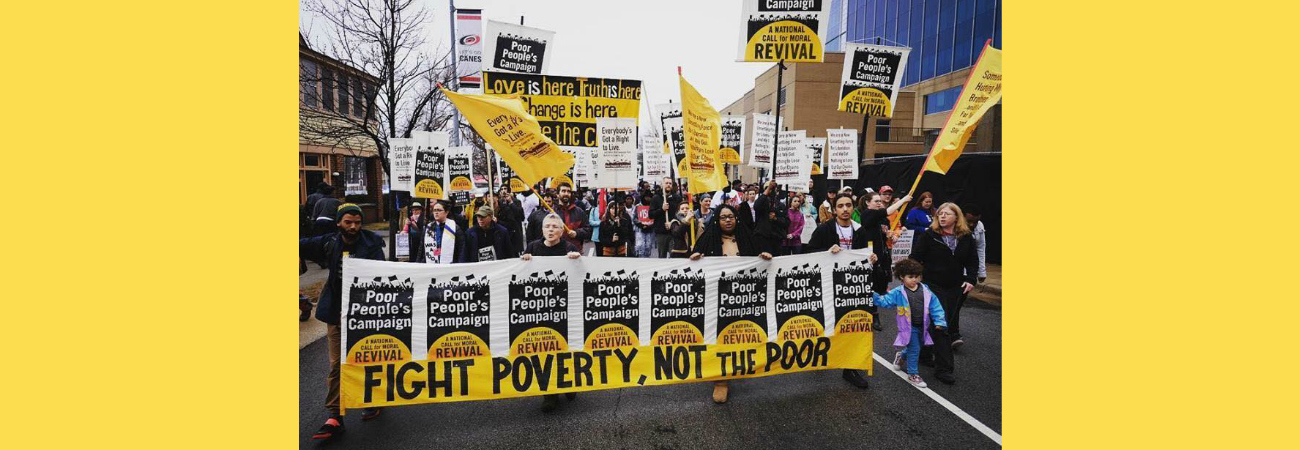 Mothers Out Front is partnering with the Poor People's Campaign!