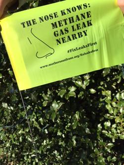 Brookline Gas Leaks Flag