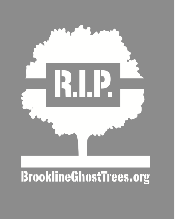 Ghost tree and gas leak stencil