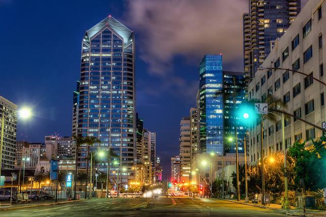Broadway, San Diego by Justin Brown, on Flickr