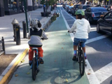 Parking Protected Bikeways