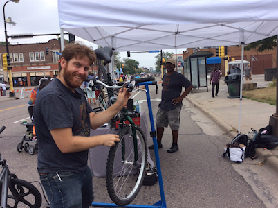 Cycles for Change - Frogtown, Saint Paul