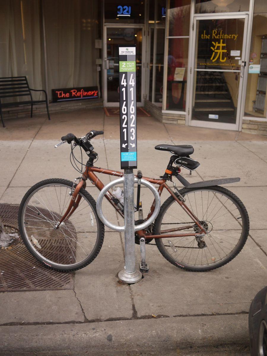 A bike hitch