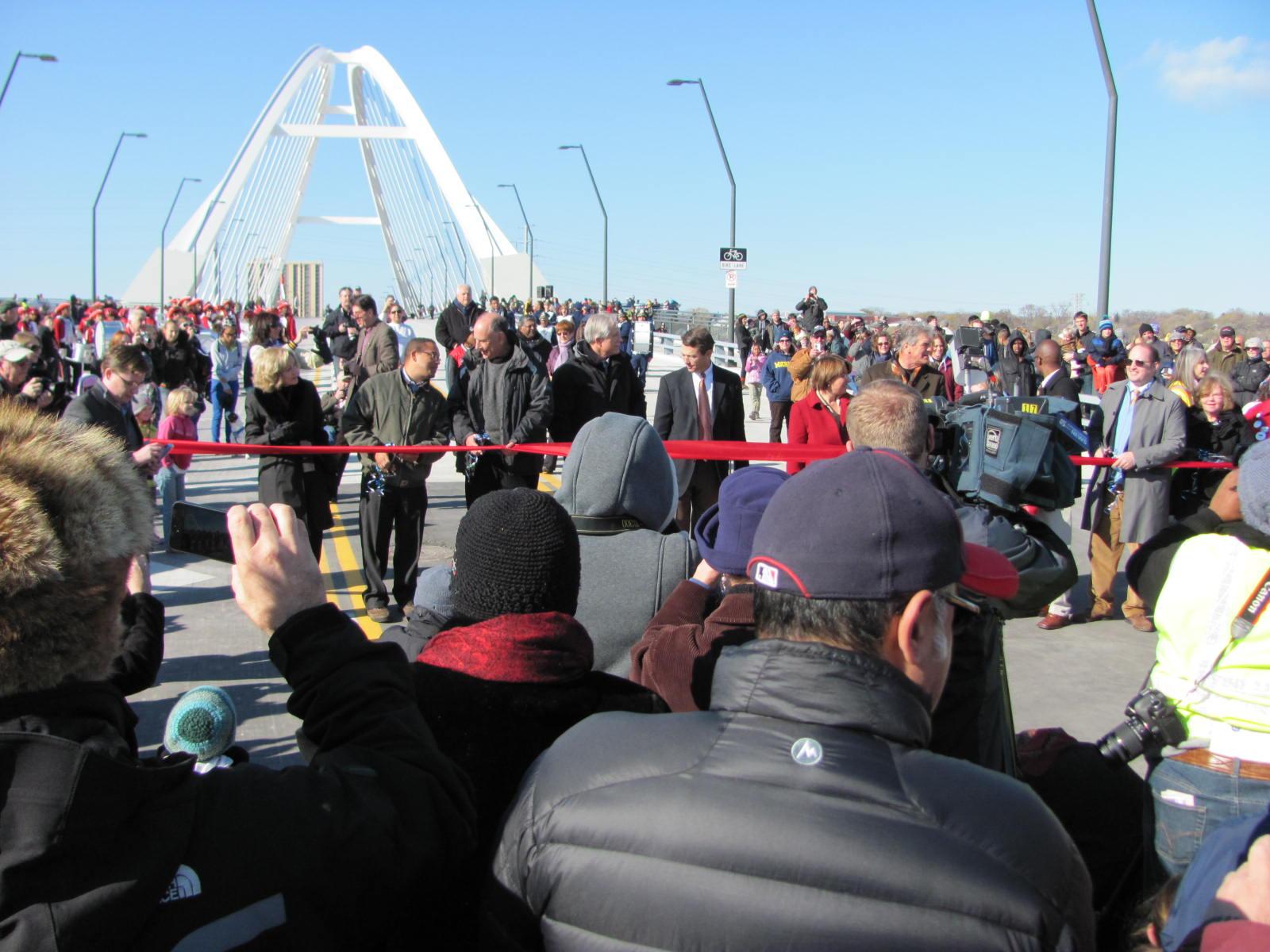 Lowry Bridge Opening
