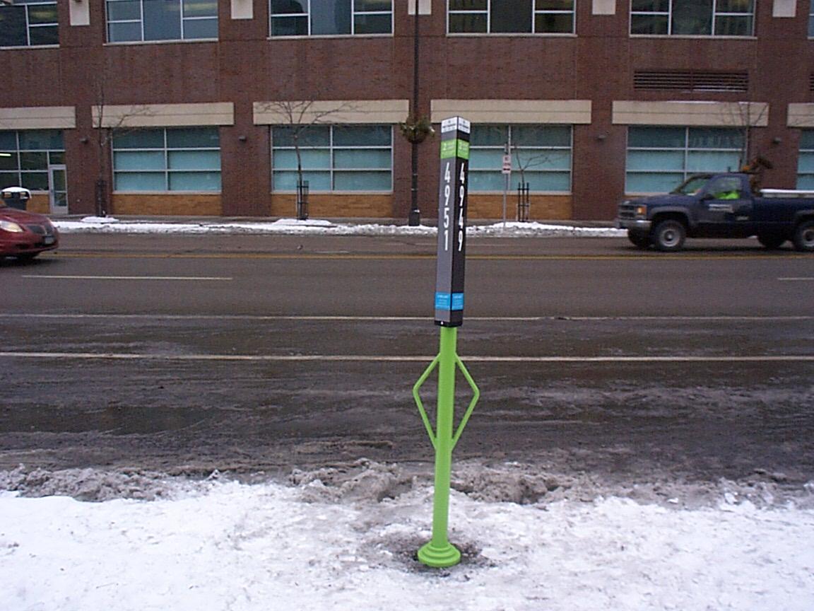 experimental bike rack