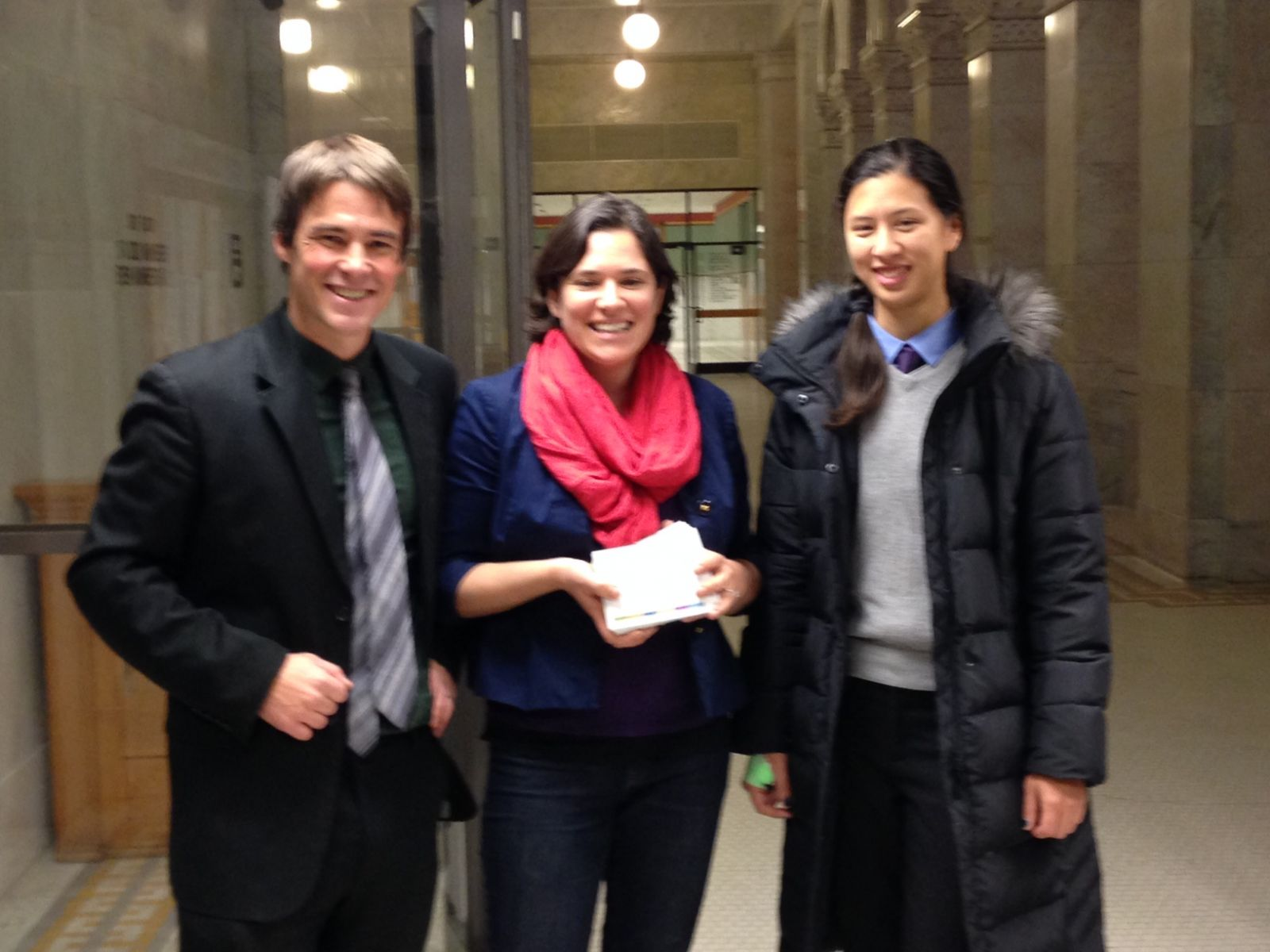 12-2-14_Postcard_Delivery_Event-_Ethan_and_Low_with_CM_Lisa_Bender.JPG
