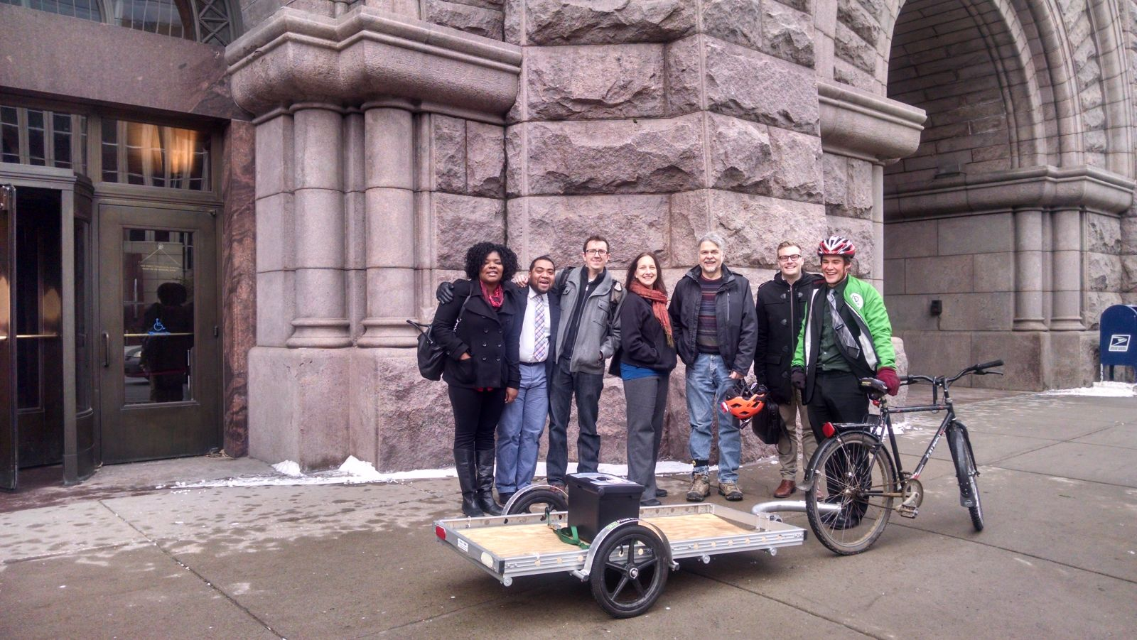 12-2-14_Postcard_Delivery_Event-_Trailer_outside_City_Hall.jpg