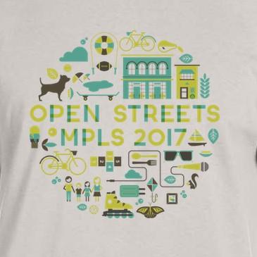 2017 Open Streets T Shirt