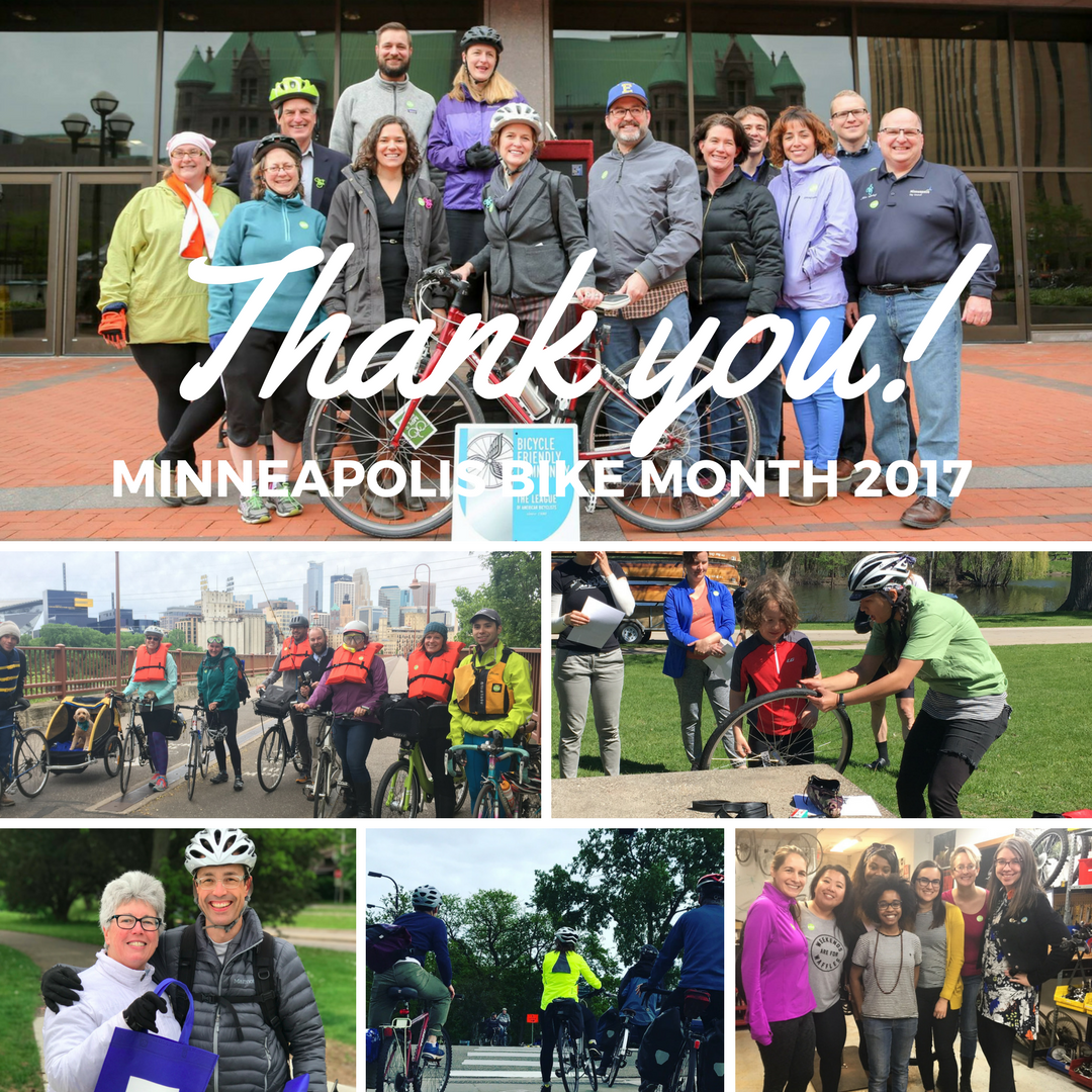 Bike Month Thank You