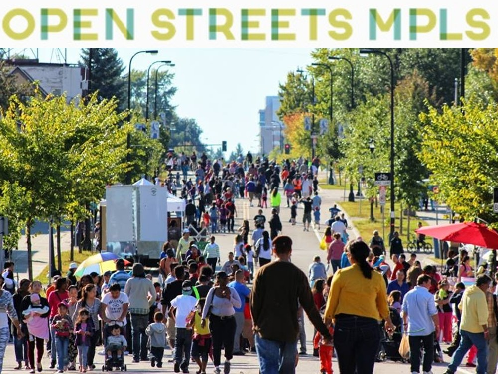 Open Streets temporarily transforms major city streets into car-free zones for one weekend day to enjoy by biking, walking, skating… whatever! Help plan programming for one of the 8 Open Streets events this year, lead a team of volunteers, or help keep the streets safe and fun on event day.