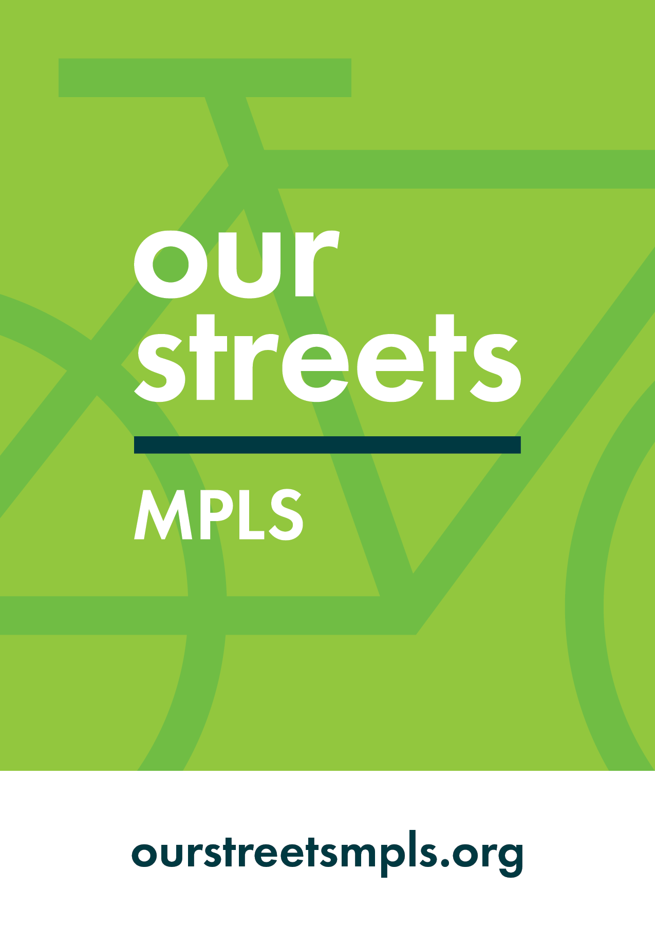 Our Streets Minneapolis Spoke Card
