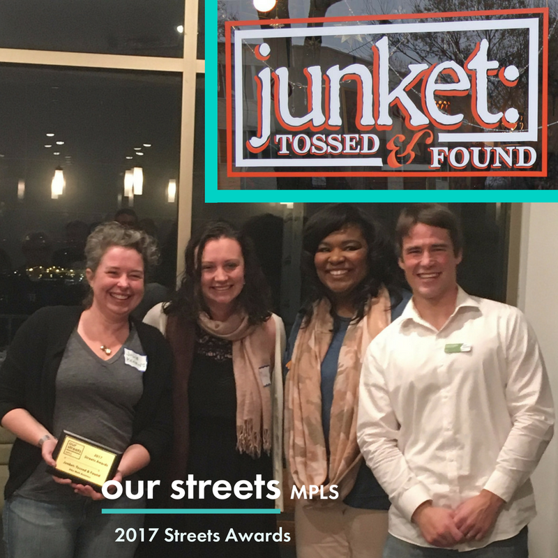 Junket: Tossed & Found