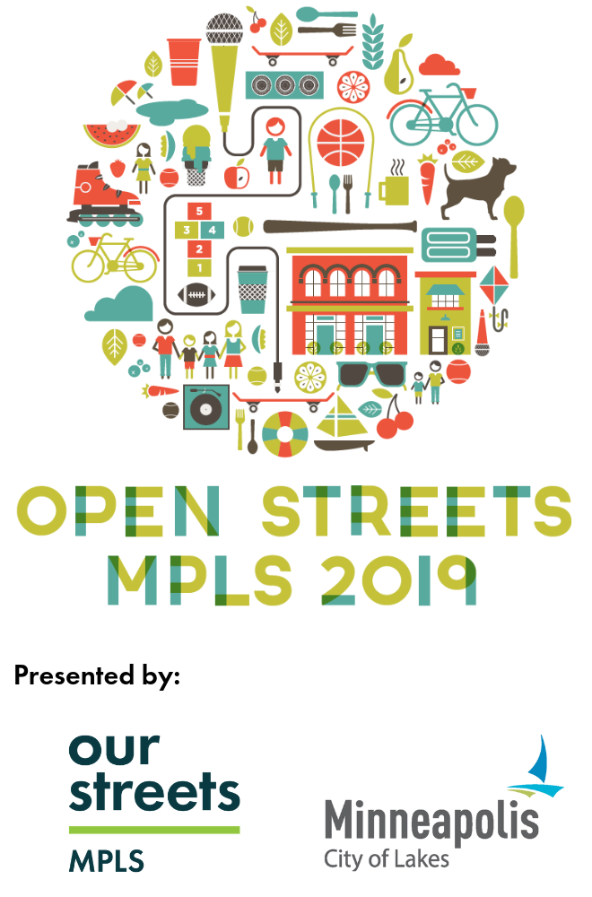 Open Streets Minneapolis presented by Our Streets Minneapolis and the City of Minneapolis