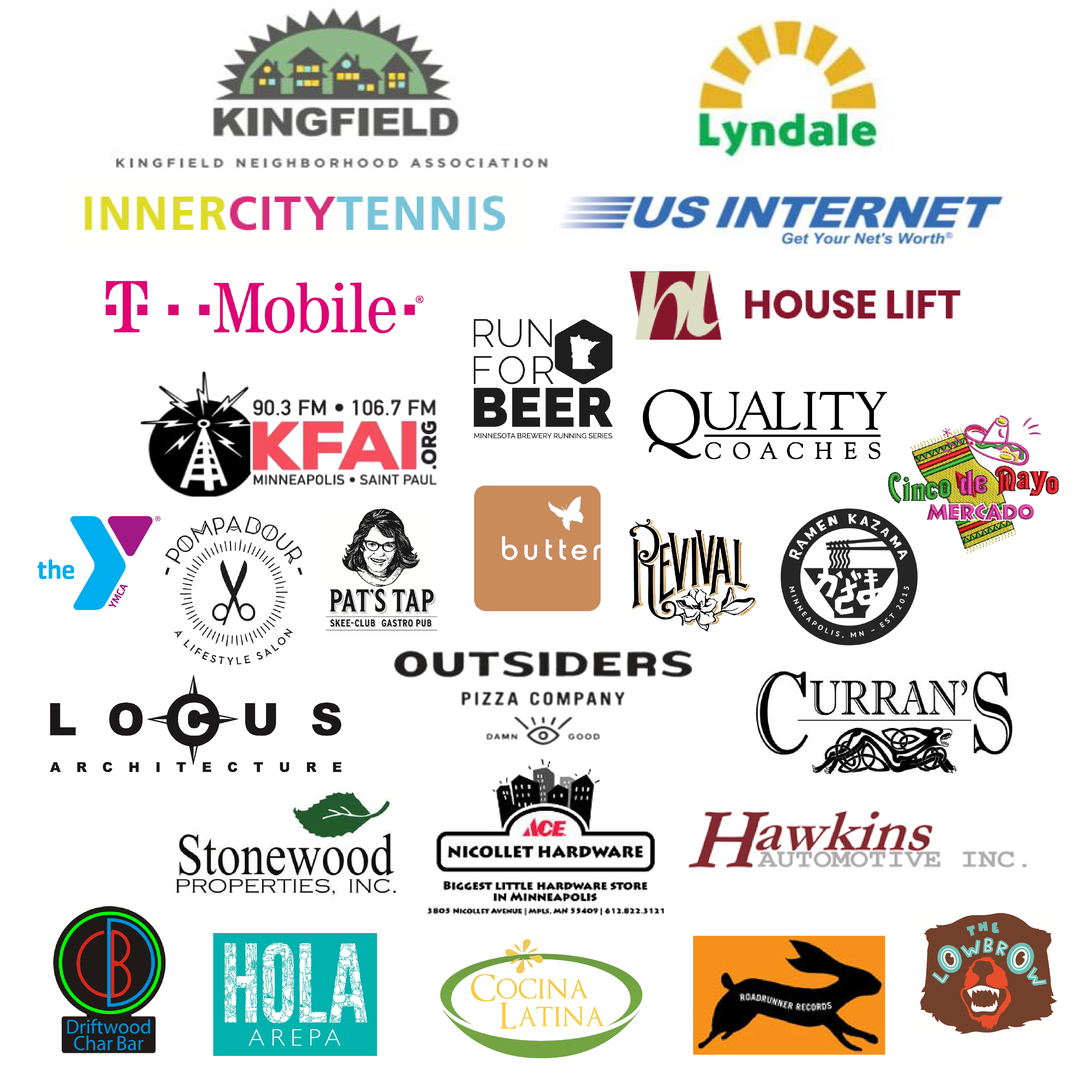 Nicollet Sponsors