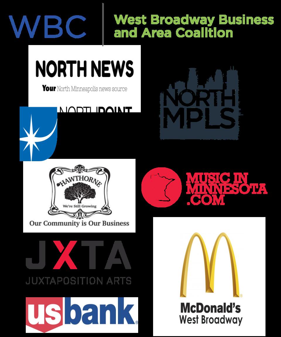 West Broadway Sponsor Logos