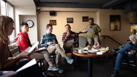Downtown Bikeways members at their May meeting