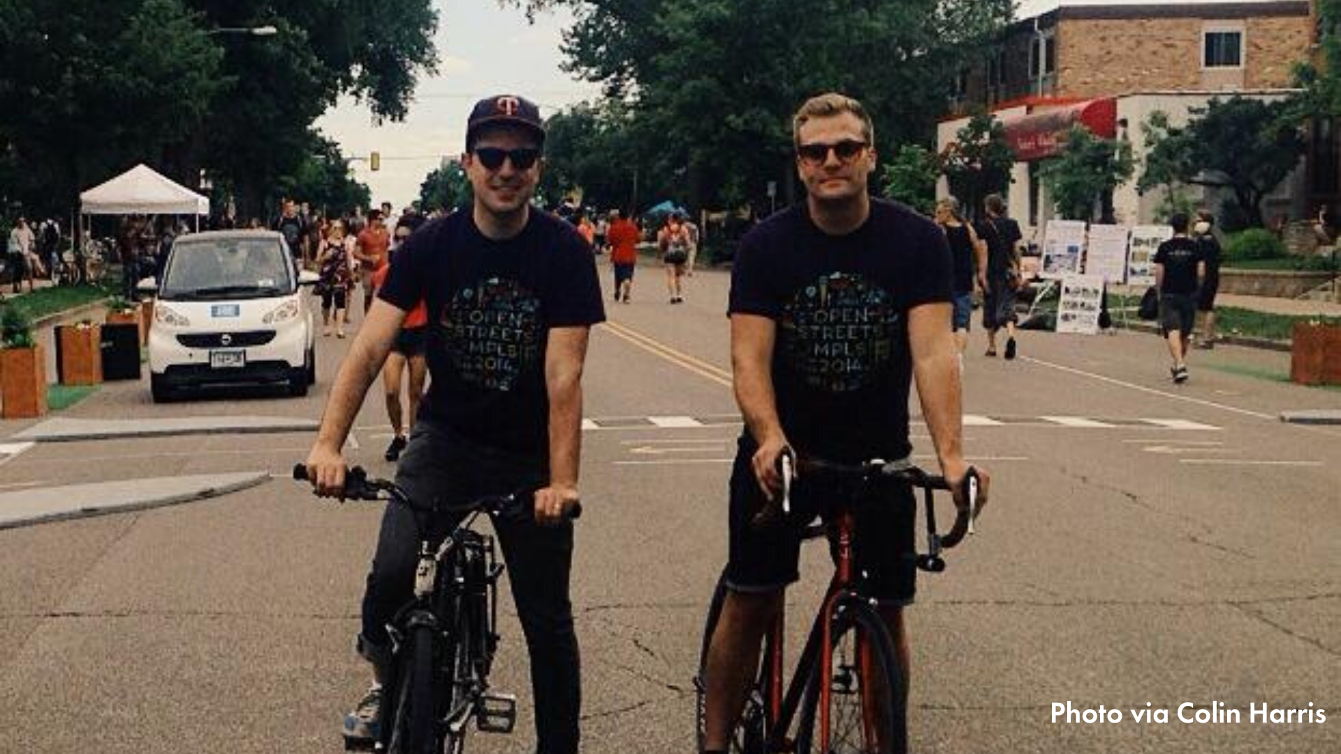 Colin (left) and Ben at Open Streets Lyndale