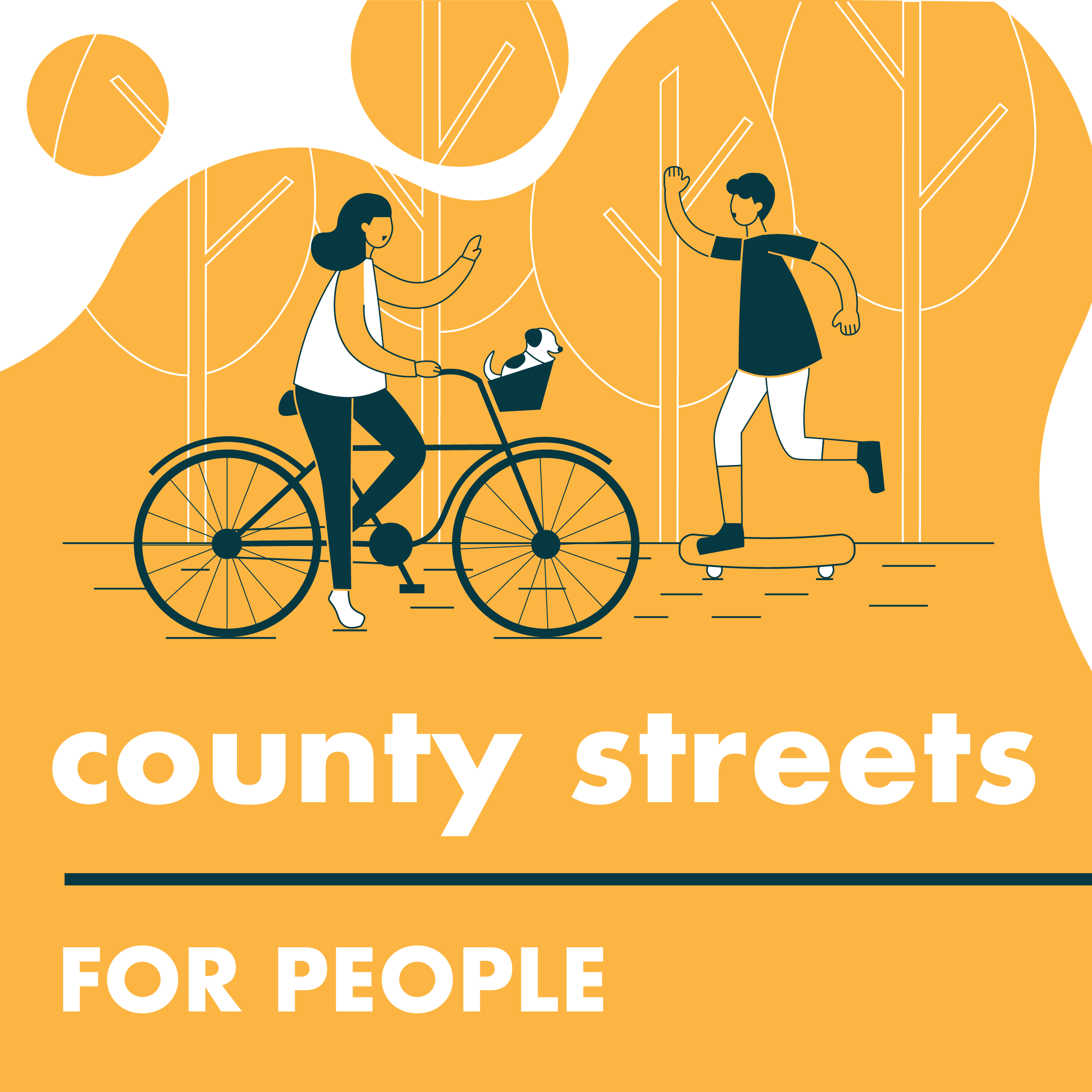 County Streets for People Logo