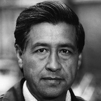 Cesar Chavez (photo from Biography.com)