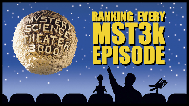 Paste Ranks Every MST3K Episode