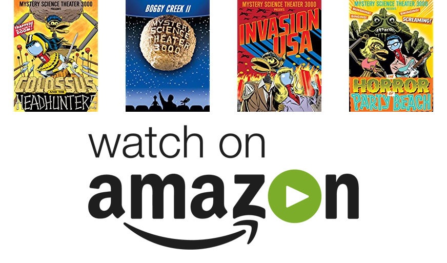 Amazon Video MST3K Sale