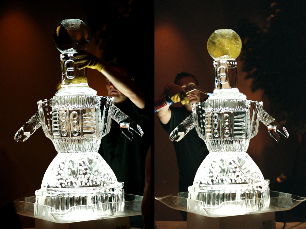 Servo Ice Sculpture