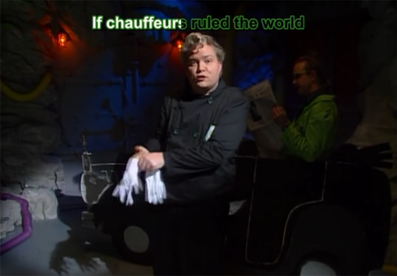 MST3K Monday: If Chauffeurs Ruled The World