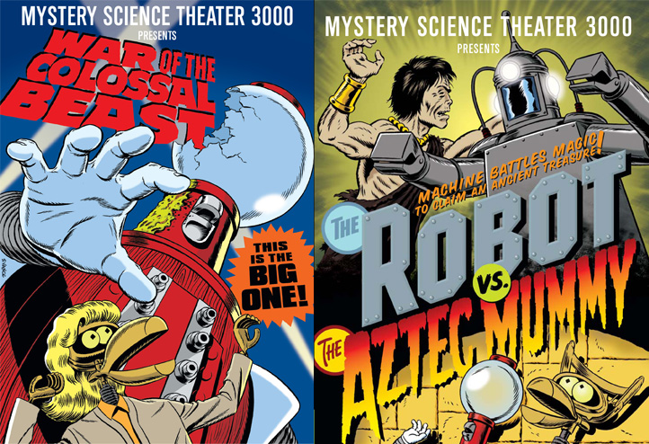 MST3K Monday: Colossal Beasts and Aztec Mummies