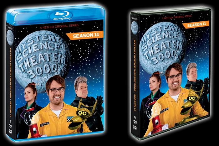 Pre-Order Season 11 Blu-ray/DVD Set