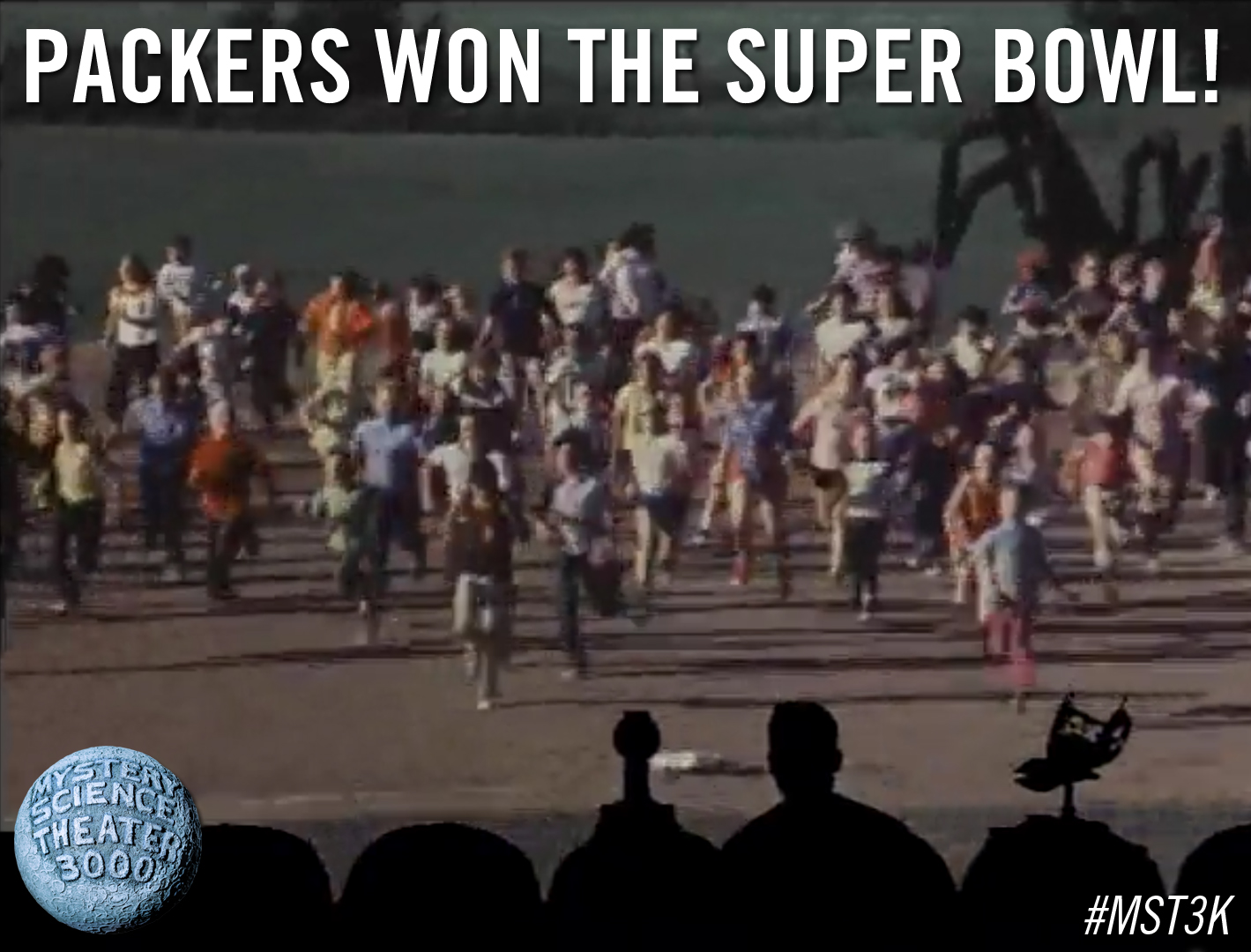 MST3K Monday: Packers Won The Super Bowl!