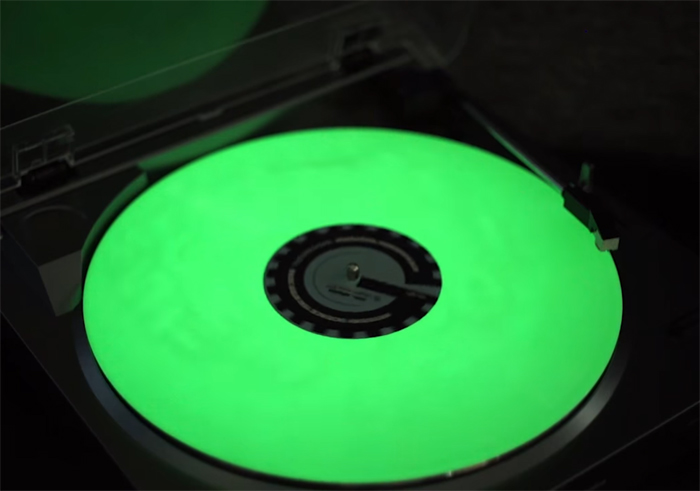 Glow-In-The-Dark Vinyl Unboxing