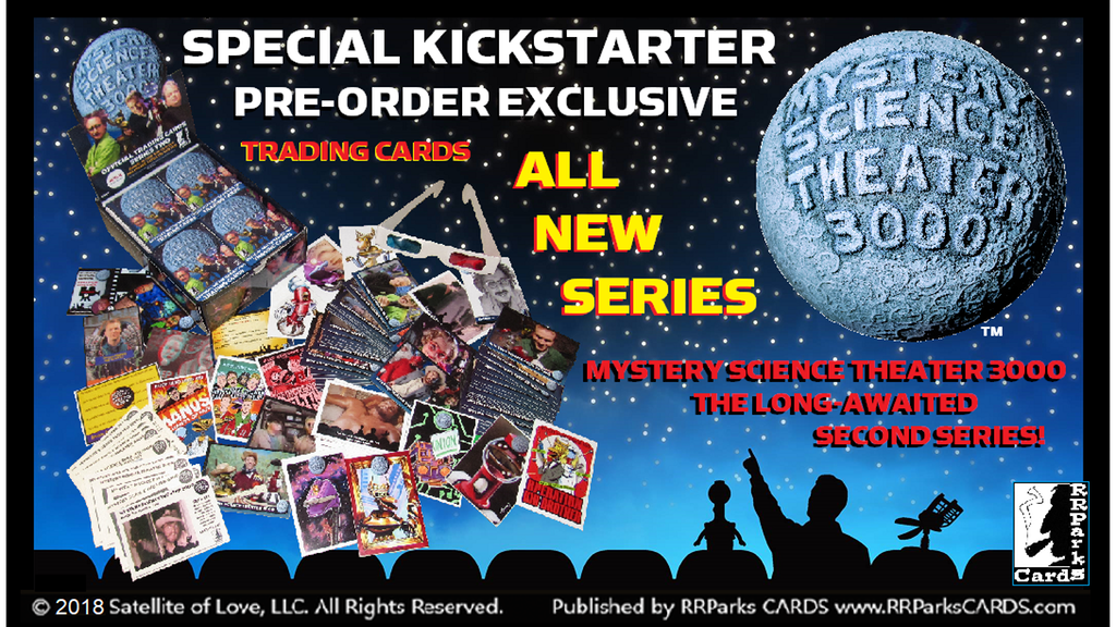Pre-order The Series Two Trading Card Set