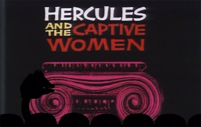 Crowback Thursday: Hercules and the Captive Women