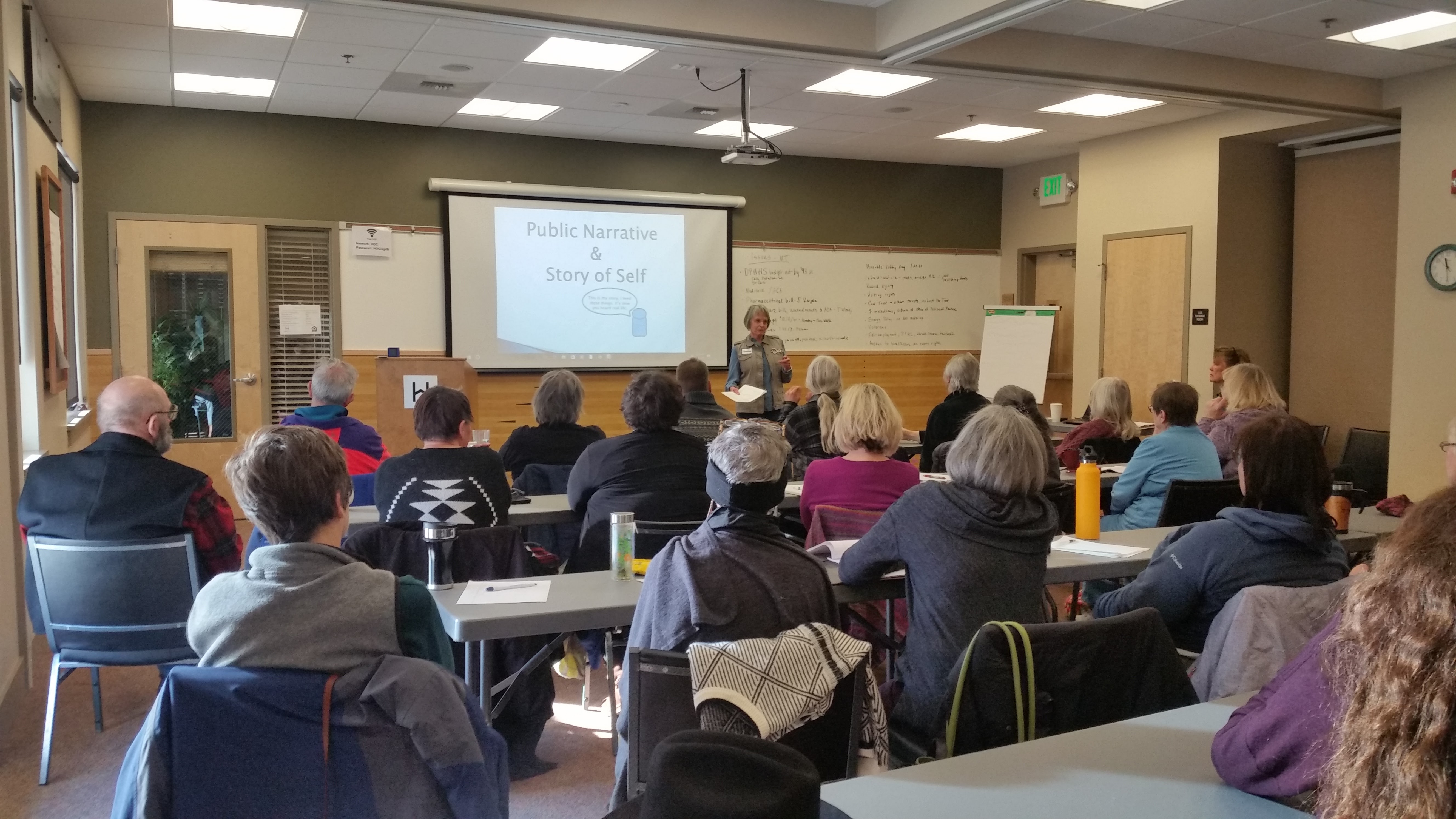 Marsha and Elizabeth SOS Training in Missoula
