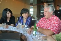 Image - Paddy Crumlin Discusses Issues With Madama Zhang