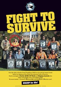 Image - Fight to survive poster