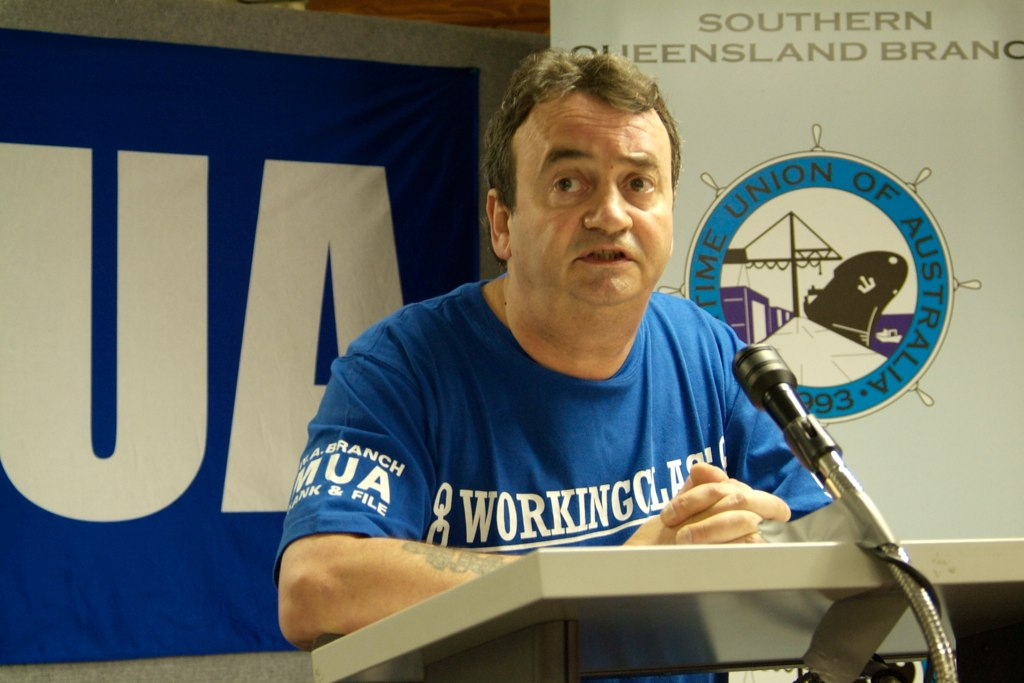 Gerry Conlon speaking at the Youth Conference in Queensland in 2009