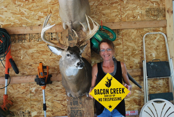 Val and her 2014 CBM Record Buck
