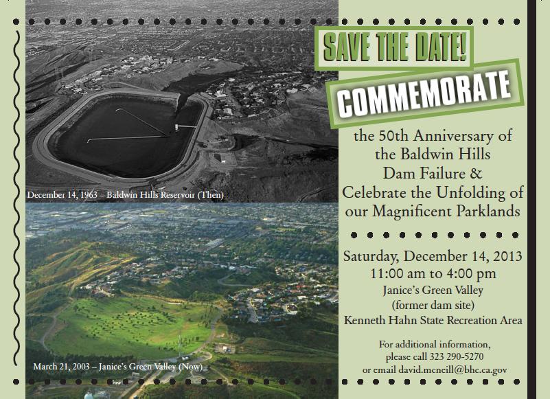 50th Anniversary of Baldwin Hills Reservoir