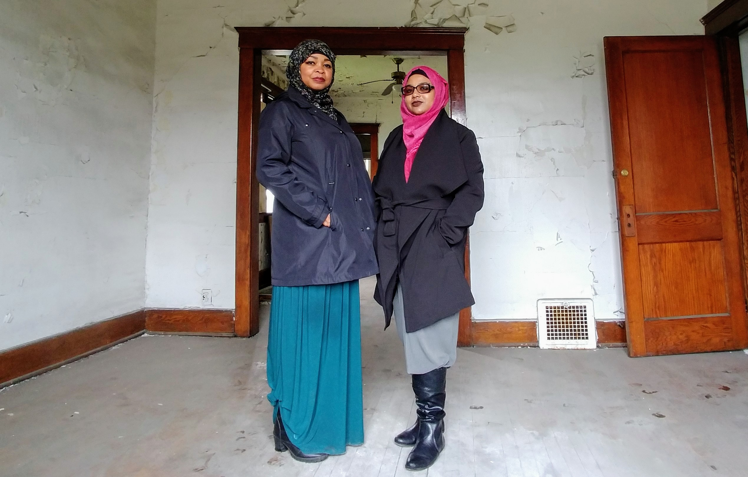 Co-Founders Margari and Namira at the ARCHouse